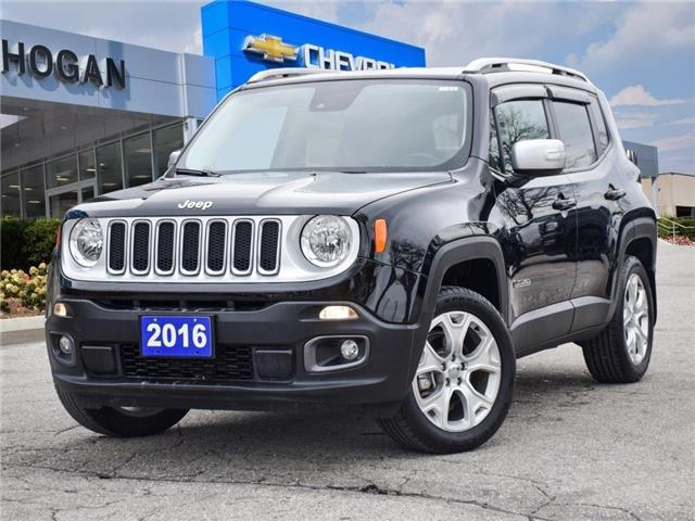 2016 Jeep Renegade Limited (Stk: W3E25350) in Scarborough - Image 1 of 27