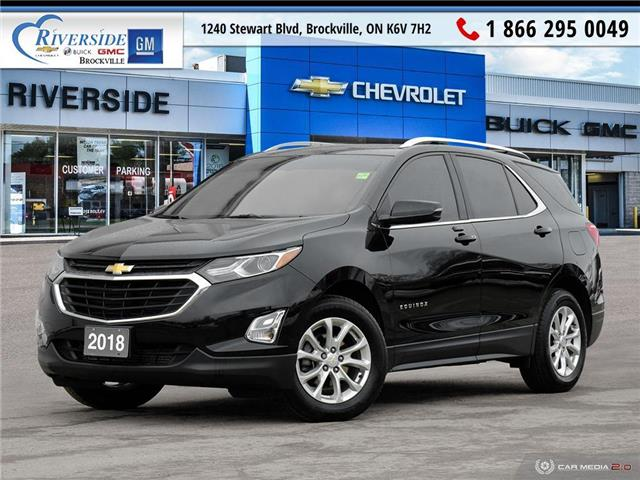 2018 Chevrolet Equinox LT (Stk: 19-484A) in Brockville - Image 1 of 27