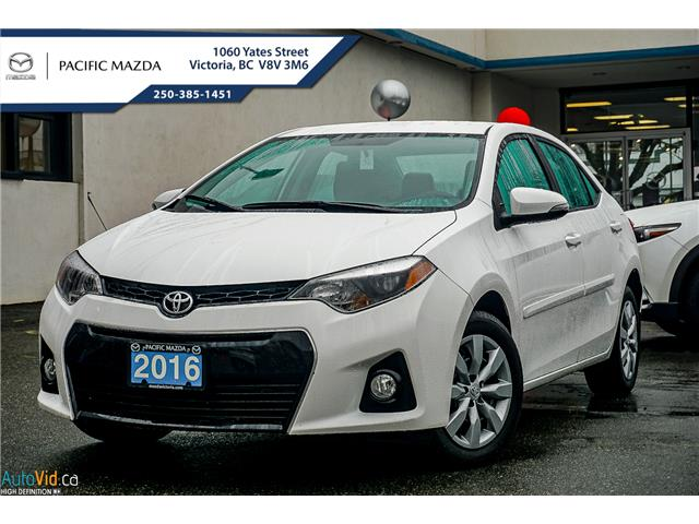 2016 Toyota Corolla CE (Stk: 8022A) in Victoria - Image 1 of 19