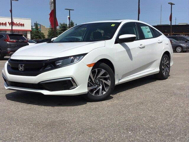 2020 Honda Civic EX (Stk: 20422) in Barrie - Image 1 of 21