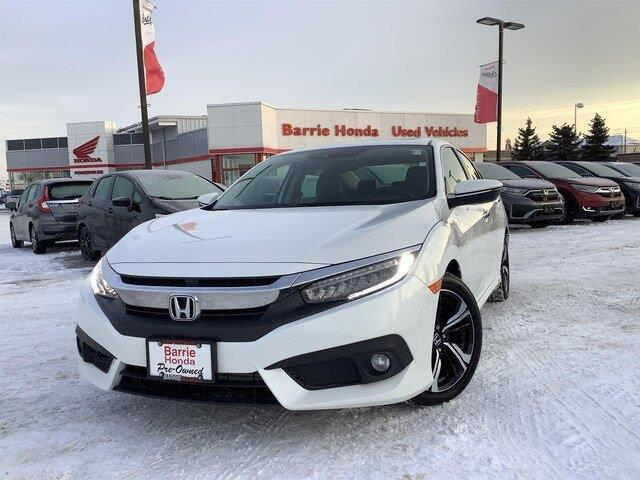 2017 Honda Civic Touring (Stk: U17246) in Barrie - Image 1 of 26