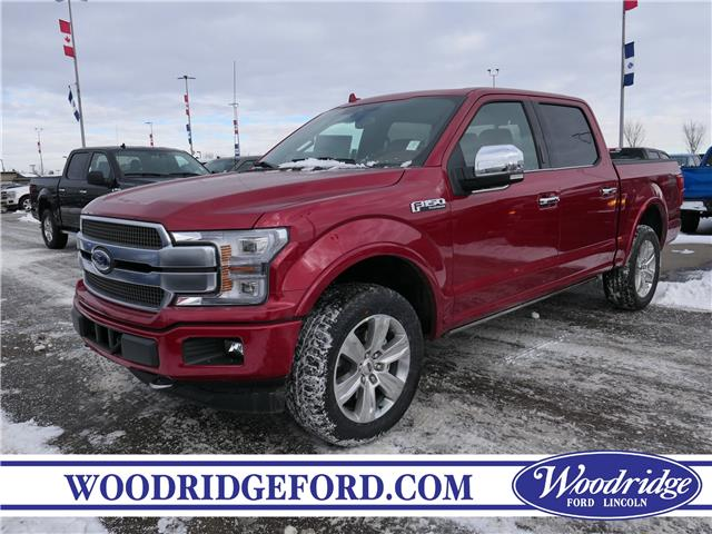 2020 Ford F-150 Platinum (Stk: L-296) in Calgary - Image 1 of 7