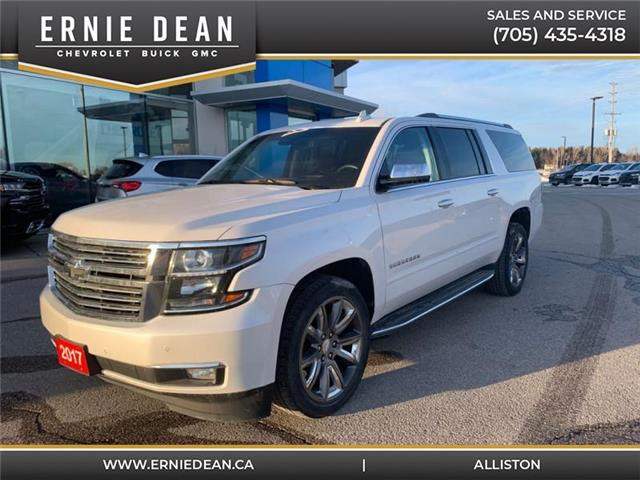 2017 Chevrolet Suburban Premier (Stk: P2172) in Alliston - Image 1 of 30