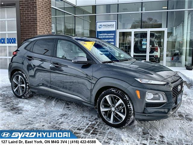 2018 Hyundai Kona 1.6T Ultimate (Stk: H5589A) in Toronto - Image 1 of 30
