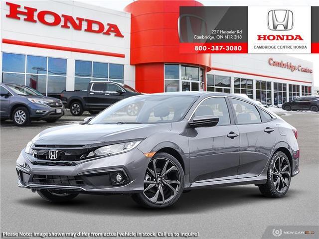 2020 Honda Civic Sport (Stk: 20750) in Cambridge - Image 1 of 24