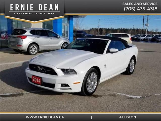 2014 Ford Mustang V6 Premium (Stk: 15175A) in Alliston - Image 1 of 12