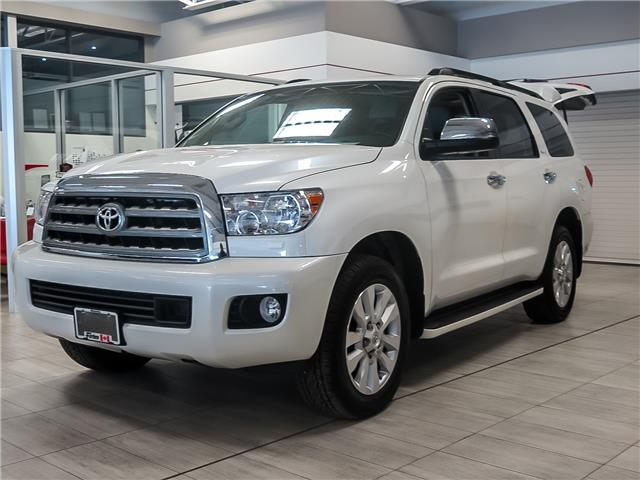 2016 Toyota Sequoia Platinum 5.7L V8 (Stk: 11654) in Waterloo - Image 1 of 21