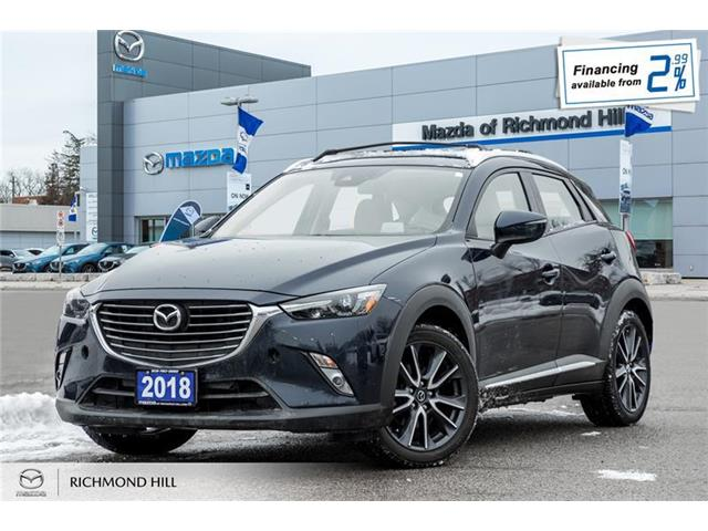 2018 Mazda CX-3 GT (Stk: P0480) in Richmond Hill - Image 1 of 19