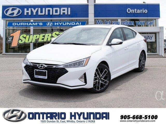 2020 Hyundai Elantra Sport (Stk: 002399) in Whitby - Image 1 of 20