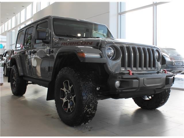 2019 Jeep Wrangler Unlimited Rubicon 1C4HJXFG3KW561693 69334A in Saskatoon