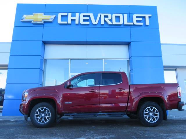 2018 GMC Canyon All Terrain w/Leather (Stk: 20061A) in STETTLER - Image 1 of 19