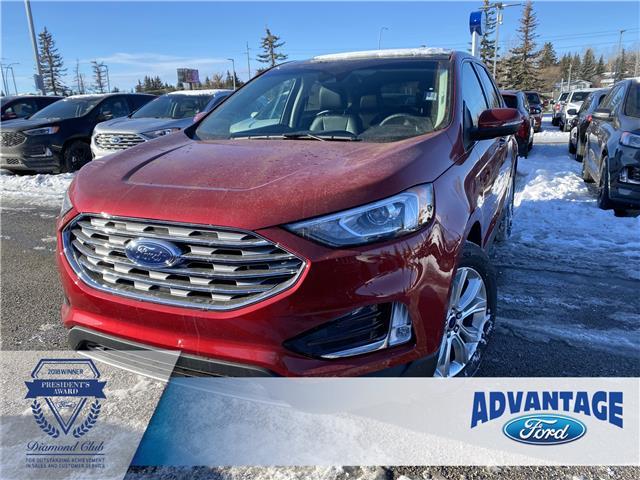 2020 Ford Edge Titanium (Stk: L-514) in Calgary - Image 1 of 7
