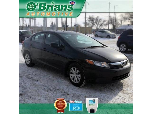 2012 Honda Civic LX (Stk: 13252A) in Saskatoon - Image 1 of 20