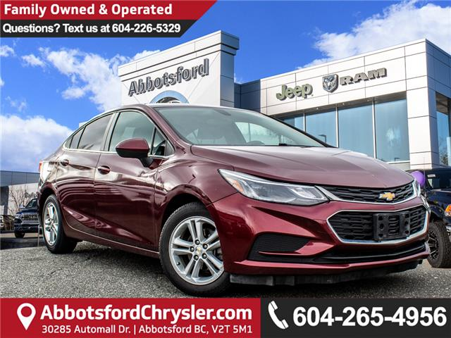 2016 Chevrolet Cruze LT Auto (Stk: AG1000A) in Abbotsford - Image 1 of 28