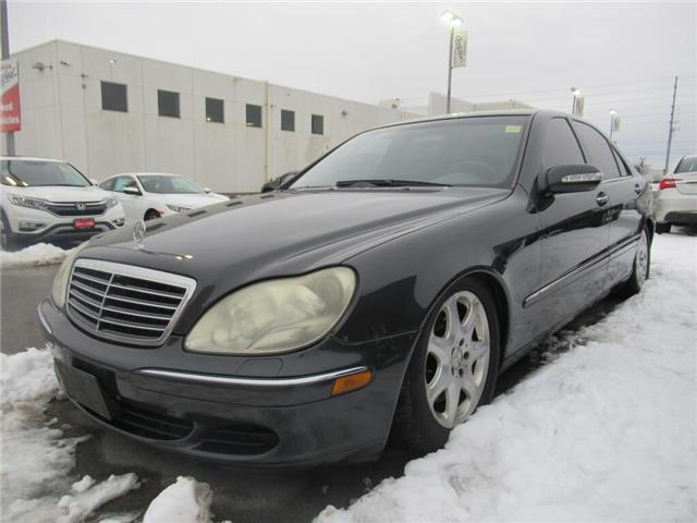 2004 Mercedes-Benz S-Class 4dr Sdn 4.3L 4MATIC | NAVIGATION | (Stk: 420509T) in Brampton - Image 1 of 15
