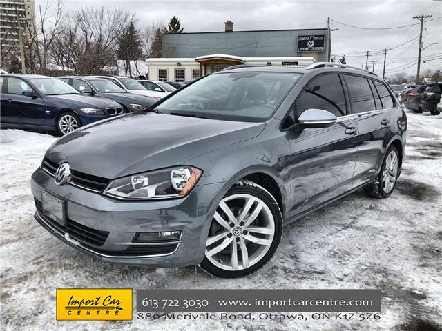 2016 Volkswagen Golf Sportwagon 1.8 TSI Highline (Stk: 519043) in Ottawa - Image 1 of 26