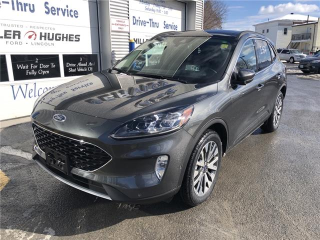 2020 Ford Escape Titanium Hybrid (Stk: 20091) in Cornwall - Image 1 of 11