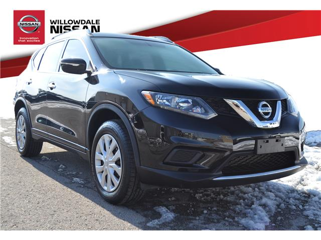 2015 Nissan Rogue S (Stk: N231A) in Thornhill - Image 1 of 24