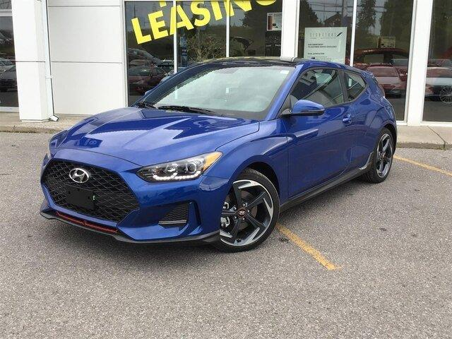 2020 Hyundai Veloster Turbo w/Sandstorm Leather (Stk: H12276) in Peterborough - Image 1 of 21