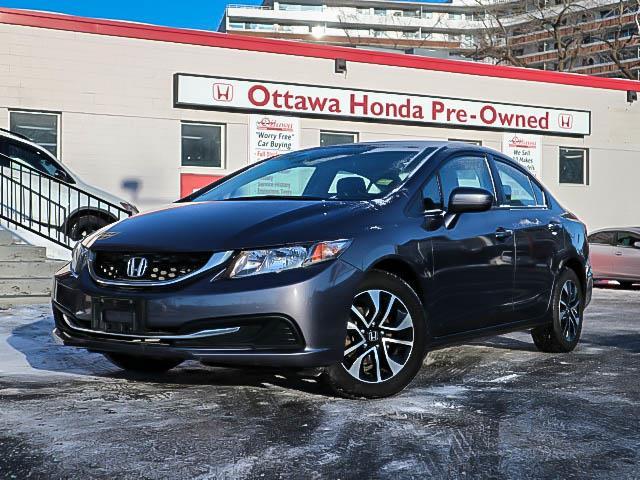 2015 Honda Civic EX (Stk: H81390) in Ottawa - Image 1 of 26