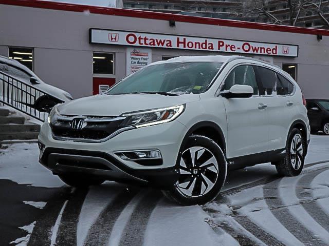 2016 Honda CR-V Touring (Stk: H81400) in Ottawa - Image 1 of 28