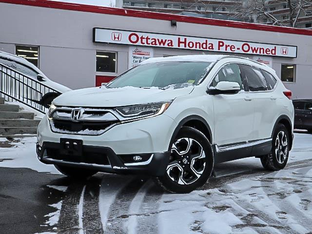 2017 Honda CR-V Touring (Stk: H81460) in Ottawa - Image 1 of 27