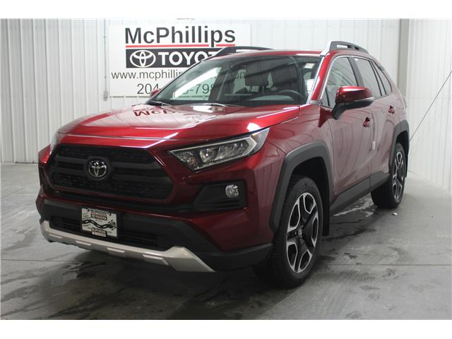 2020 Toyota RAV4 Trail (Stk: C090489) in Winnipeg - Image 1 of 25