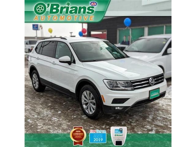 2018 Volkswagen Tiguan Trendline 3VV0B7AX9JM095463 13281A in Saskatoon