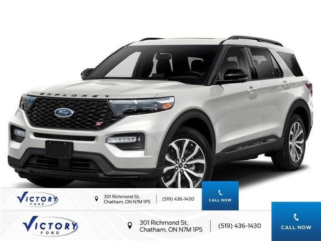 2020 Ford Explorer ST (Stk: VEX19035) in Chatham - Image 1 of 9