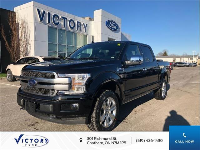 2020 Ford F-150 Platinum (Stk: VFF19164) in Chatham - Image 1 of 13