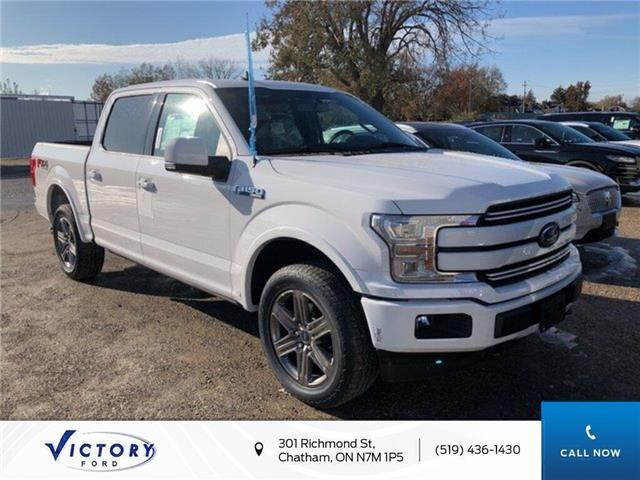 2020 Ford F-150 Lariat (Stk: VFF19073) in Chatham - Image 1 of 5