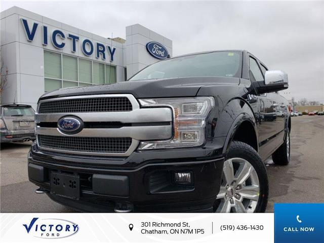 2020 Ford F-150 Platinum (Stk: VFF19180) in Chatham - Image 1 of 24