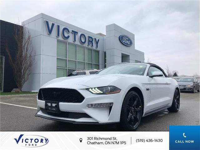 2020 Ford Mustang GT Premium (Stk: VMU19233) in Chatham - Image 1 of 13