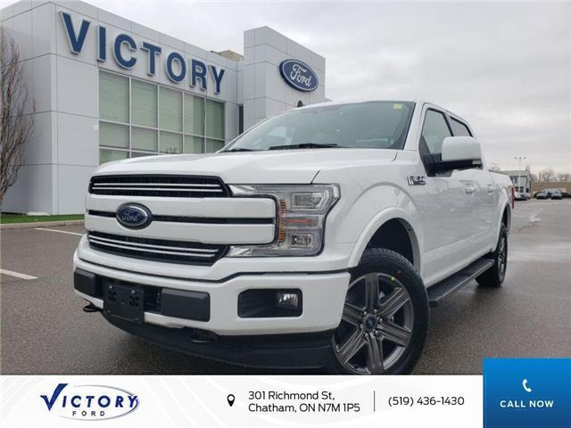 2020 Ford F-150 Lariat (Stk: VFF19219) in Chatham - Image 1 of 21