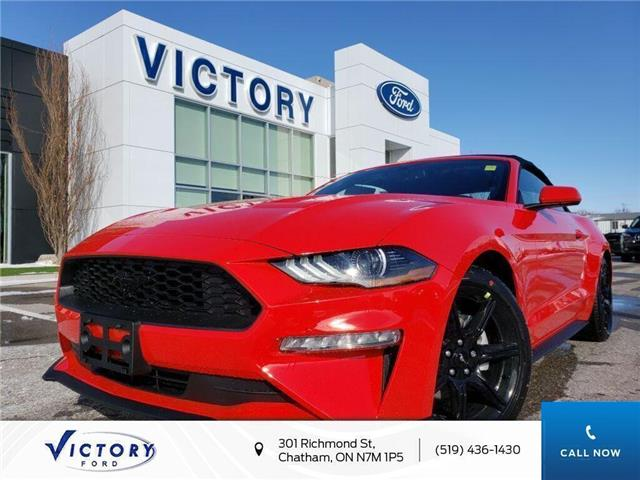 2020 Ford Mustang EcoBoost (Stk: VMU19241) in Chatham - Image 1 of 17