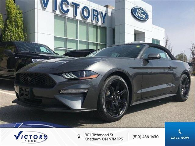 2019 Ford Mustang EcoBoost Premium (Stk: VMU18435) in Chatham - Image 1 of 7