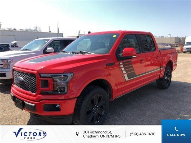 2019 Ford F-150 Lariat (Stk: VFF18446) in Chatham - Image 1 of 5