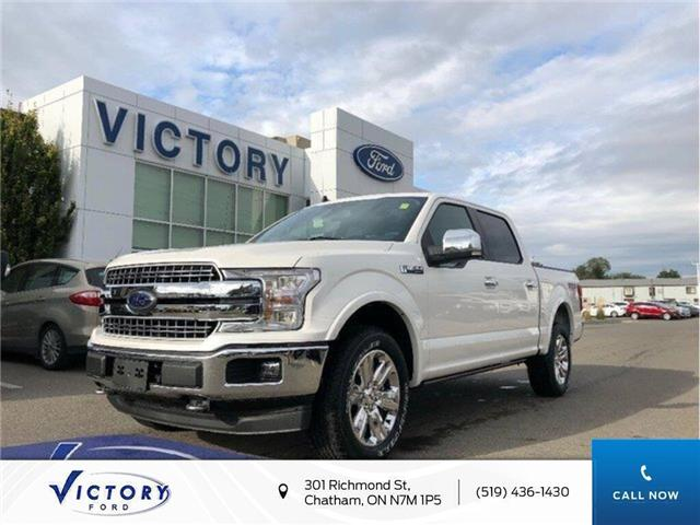 2019 Ford F-150 Lariat (Stk: VFF18969) in Chatham - Image 1 of 10