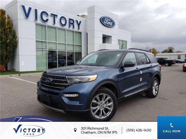 2020 Ford Explorer XLT (Stk: VEX19020) in Chatham - Image 1 of 15