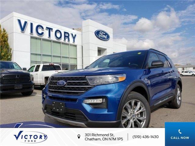 2020 Ford Explorer XLT (Stk: VEX19021) in Chatham - Image 1 of 14