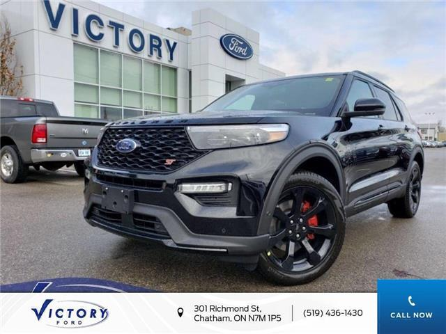 2020 Ford Explorer ST (Stk: VEX19122) in Chatham - Image 1 of 23