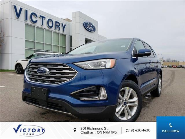 2020 Ford Edge SEL (Stk: VEG19196) in Chatham - Image 1 of 22
