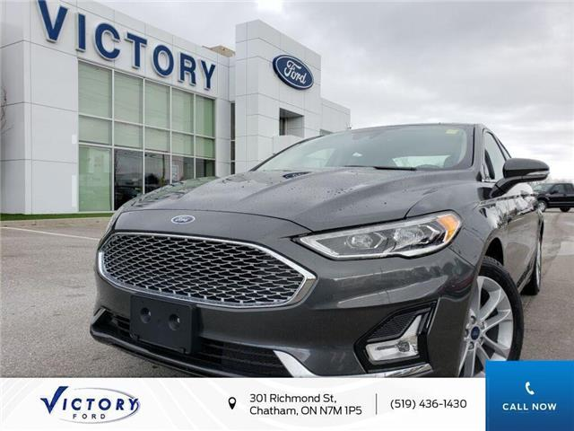 2020 Ford Fusion Energi Titanium (Stk: VFUE19208) in Chatham - Image 1 of 21