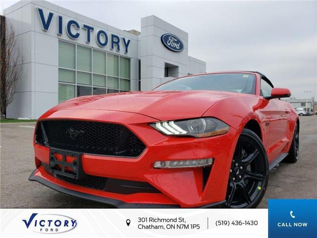 2020 Ford Mustang GT Premium (Stk: VMU19231) in Chatham - Image 1 of 18
