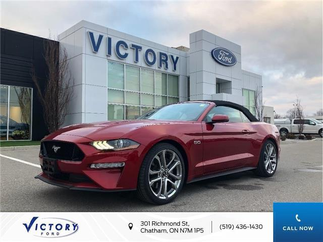 2020 Ford Mustang GT Premium (Stk: VMU19238) in Chatham - Image 1 of 16