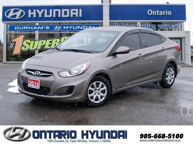 2014 Hyundai Accent GL (Stk: 43859K) in Whitby - Image 1 of 18