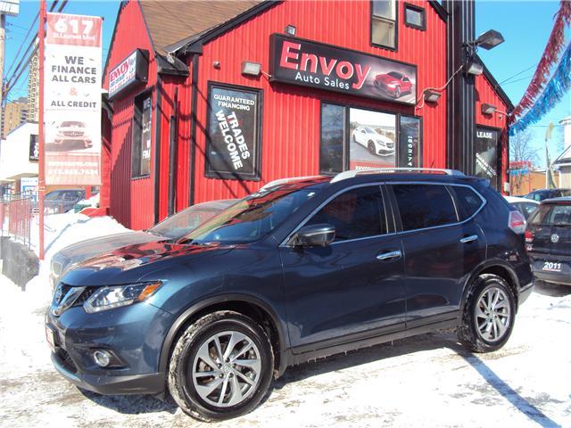 2015 Nissan Rogue SL (Stk: ) in Ottawa - Image 1 of 29