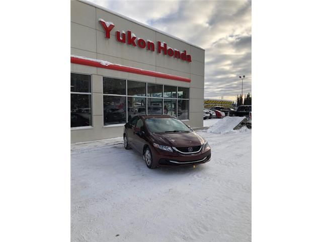 2014 Honda Civic LX (Stk: ) in Whitehorse - Image 1 of 4