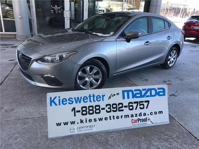2015 Mazda Mazda3 GX (Stk: U3898) in Kitchener - Image 1 of 26