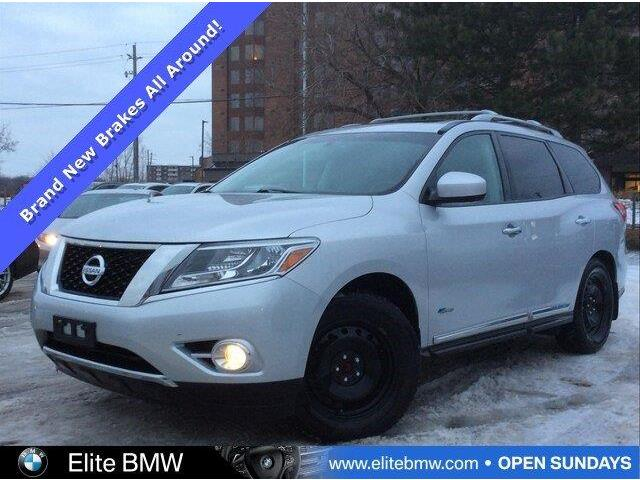 2014 Nissan Pathfinder Hybrid SV (Stk: 13670AA) in Gloucester - Image 1 of 26